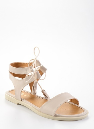 Bambi Sandalet Bej